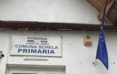 Localitate din Gorj în scenariul roșu