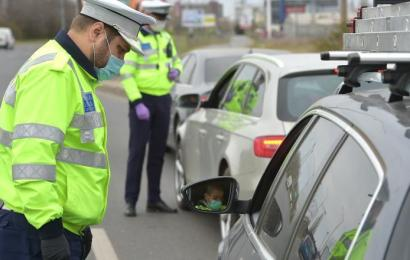 Peste 650 de sancțiuni aplicate de polițiștii gorjeni, în weekend