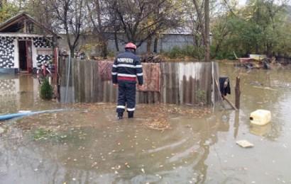 Risc de inundații în Gorj