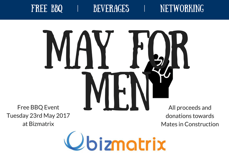 May for Men 2017 – Free BBQ Event