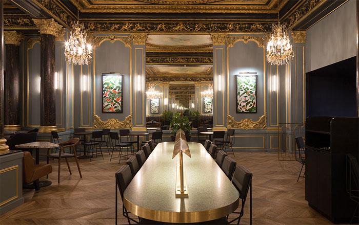 Bosnian Chairs In Famous Starbucks In Paris