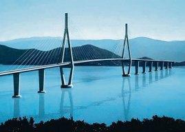 Počelo postavljanje stubova Pelješkog mosta