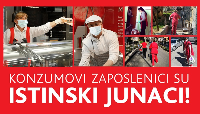 Konzum nagradio svoje zaposlenike u prodavnicama - Biznis Info