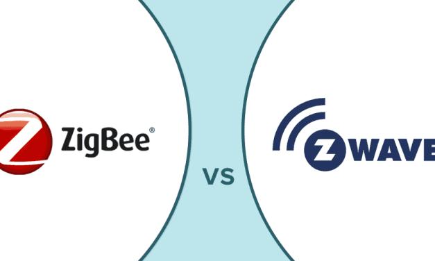 Kater standard za pametni dom uporabiti Zigbee ali Z-Wave?