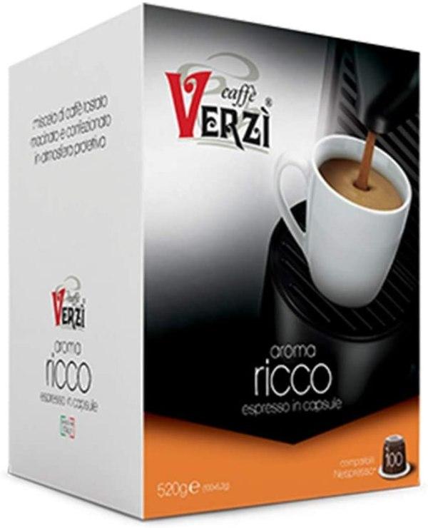 CAFFÈ VERZI   Compatibilità: NESPRESSO®   Aroma: RICCO   (100)