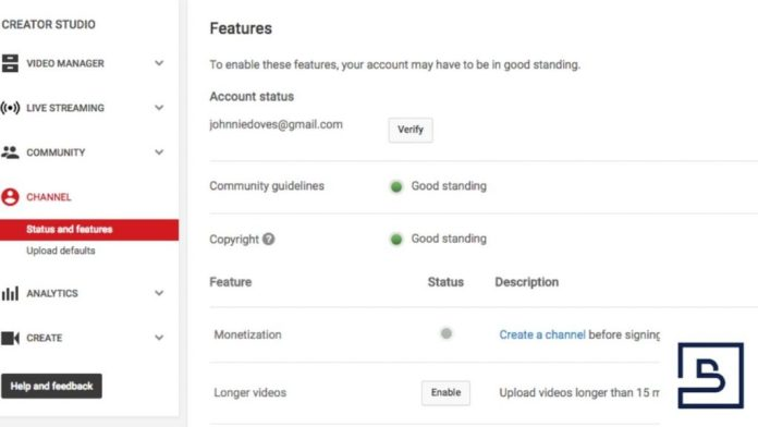 Monetizing your YouTube Videos