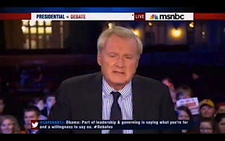 Chris Matthews debate