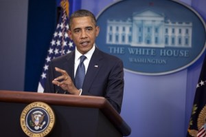"President Obama emphasizes a ""balanced approach"" to reducing the deficit"