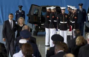Obama, Clinton honor Benghazi dead
