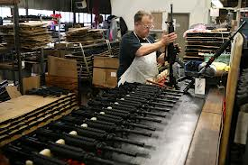 Gun manufacturing plant