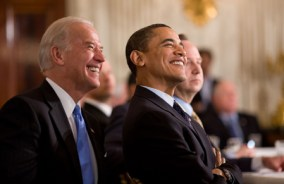 Obama, Biden in White House