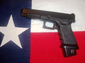 Texas flag gun