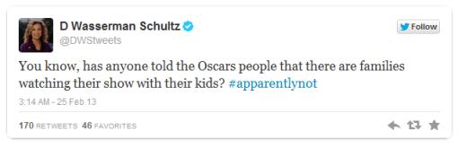 DWS Oscars tweet