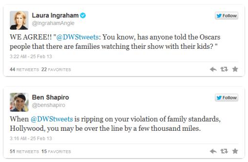 Laura Ingraham Oscar tweet