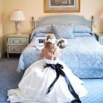 skype wedding bride