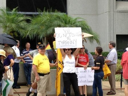 IRS protest - Orl