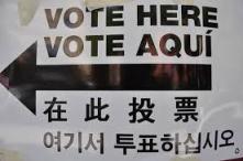 vote in 4 languages
