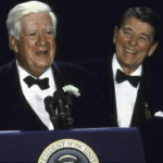 Ronald Reagan and Tip ONeill