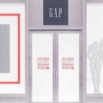 Gap door
