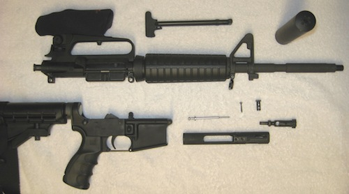 ar-15-field-stripped