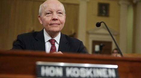 IRS comm John Koskinen
