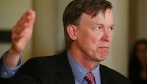 Photo Credit: Daily Kos Colorado Democrat Gov. John Hickenlooper's campaign doesn't like releasing documents to conservative news outlets.