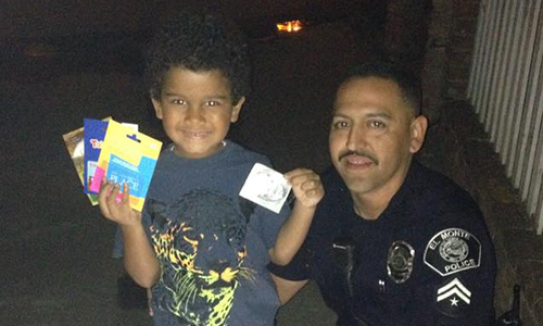 Such A Classy Thing To Do Good Samaritan Cop Rescues
