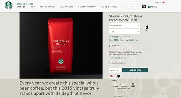 Photo credit Starbucks.com
