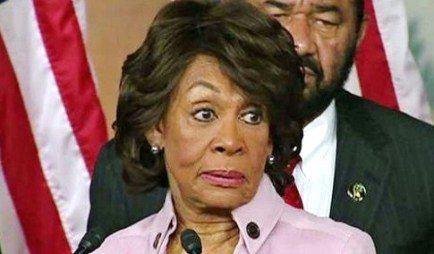 screenshot maxine waters impeach trump