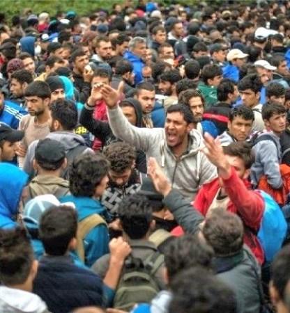 syrian muslim refugees men