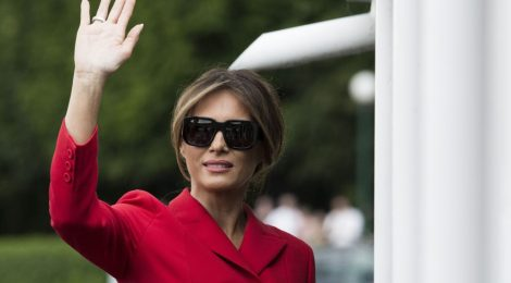 France melania trump paris