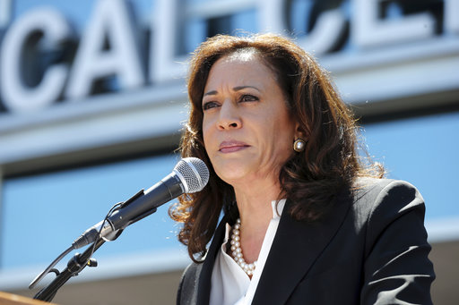 How close is Kamala Harris to being Donald Trump's 2020 opponent?