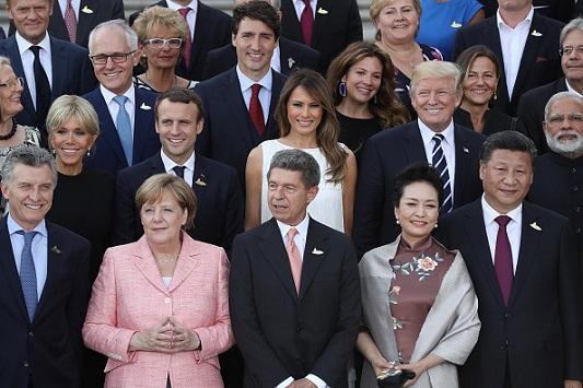 Getty G20 Summit Hamburg