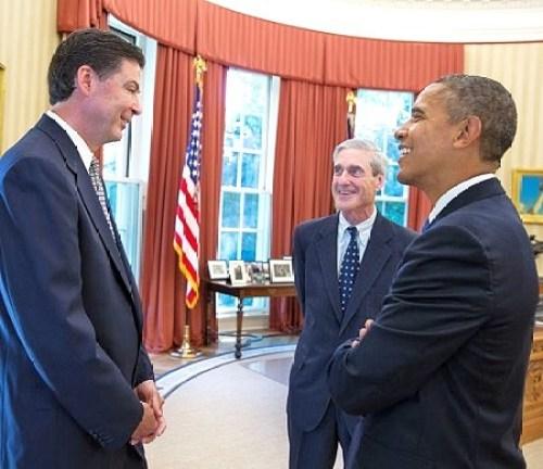robert mueller friends james comey obama