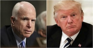 Trump fires back at McCain: 'At some point I fight back, and it won't be pretty'