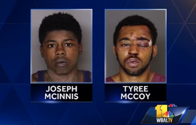 Two men accused of trying to rob bar full of off-duty cops