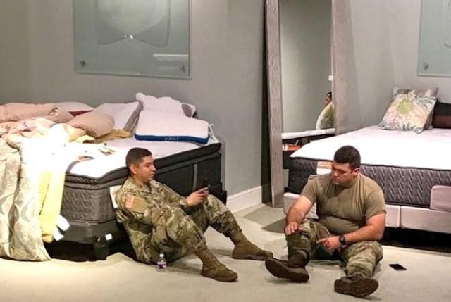 mattress mack gallery stores texas national guard hurricane harvey