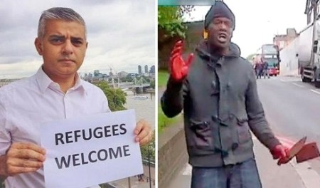 muslim mayor sadiq khan london knife-crimes youtube videos