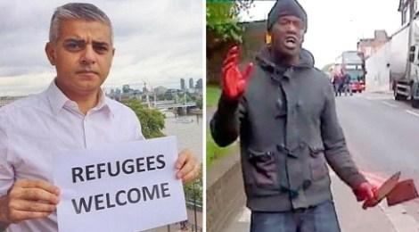 muslim mayor sadiq khan london knife-crimes youtube videos