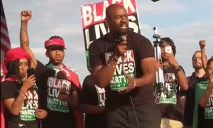 Black Lives Matter took over the stage at pro-Trump rally, and nobody expected what happened next