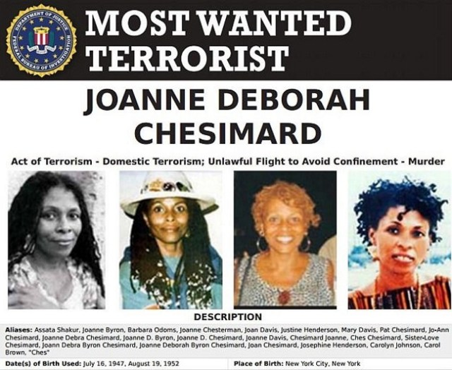 assata shakur fbi most wanted list colin kaepernick