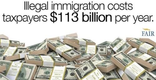 illegal-immigration-costs-113-billion dollars FAIR