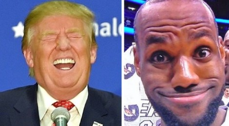 lebron james calls president donald trump a bum disgrace