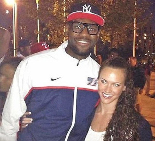 lebron james hit on Lauren Perdue at 2012 london olympics