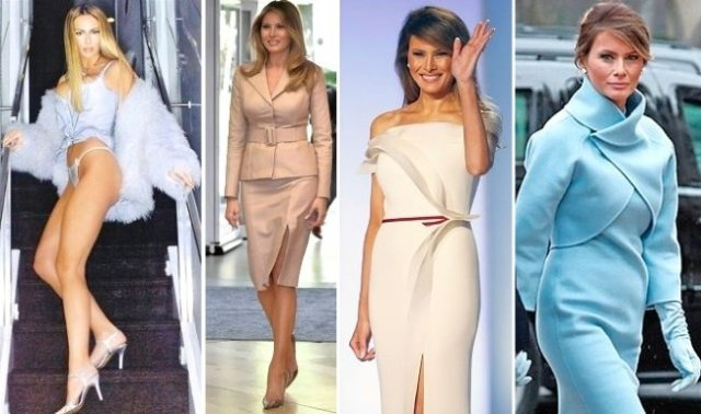 melania trump fashion montage