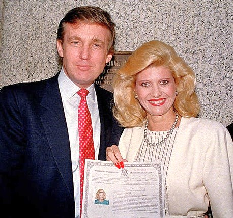 Trump's first wife Ivana writes on marriage, messy divorce