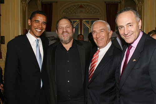 """Harvey Weinstein Hosts a Private Dinner and Screening of """"Bobby"""" for Senators Obama and Schumer"""