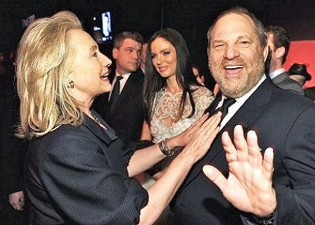 Image result for Harvey Weinstein hillary clinton