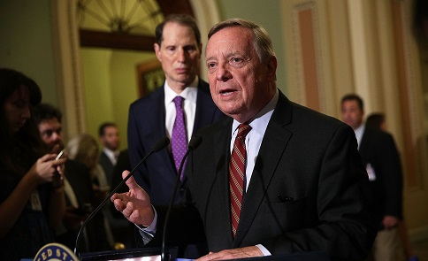Sen. Durbin Unbending: 'I Stand by Every Word I Said'