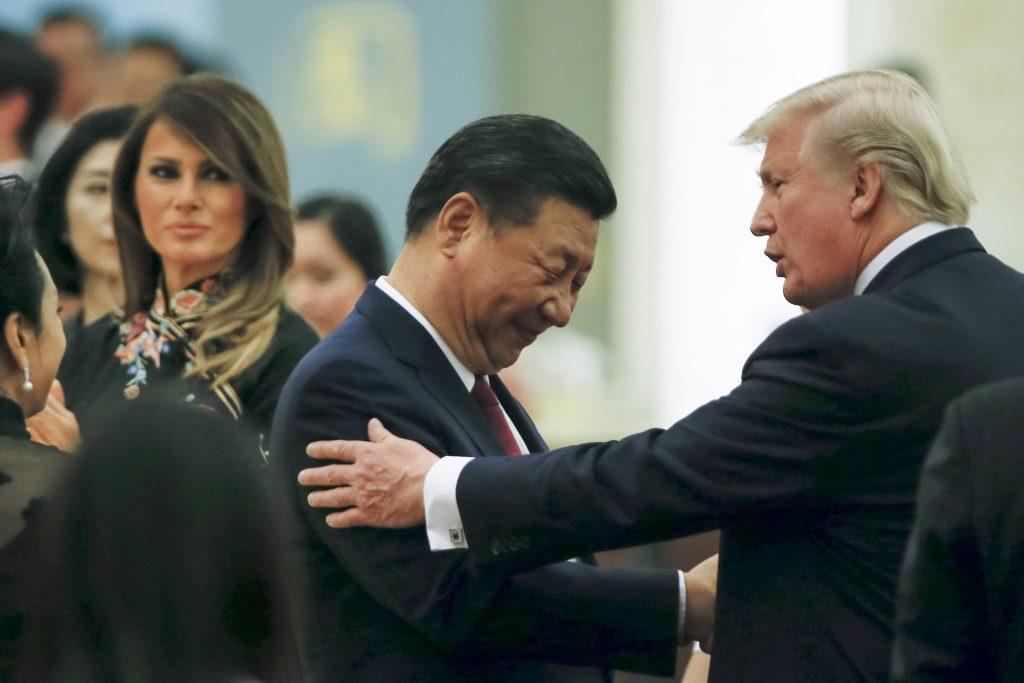 Panda 'photobombs' Melania Trump on visit to Beijing Zoo
